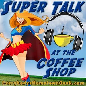 Super Talk at the Coffee Shop podcast logo