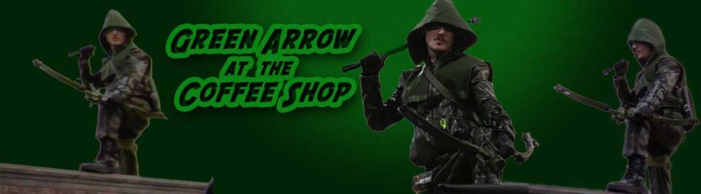 Green Arrow at the Coffee Shop