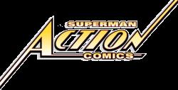 Superman in Action Comics Logo