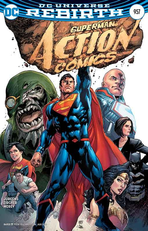 DC Rebirth Action Comics #957 Cover