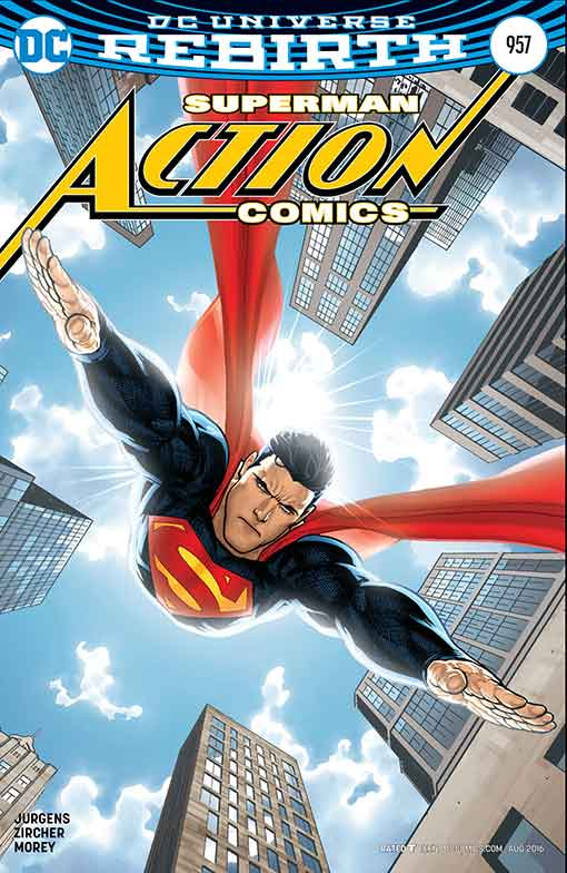 DC Rebirth Action Comics #957 Variant Cover
