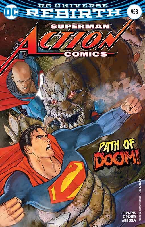 DC Rebirth Action Comics #958 Cover