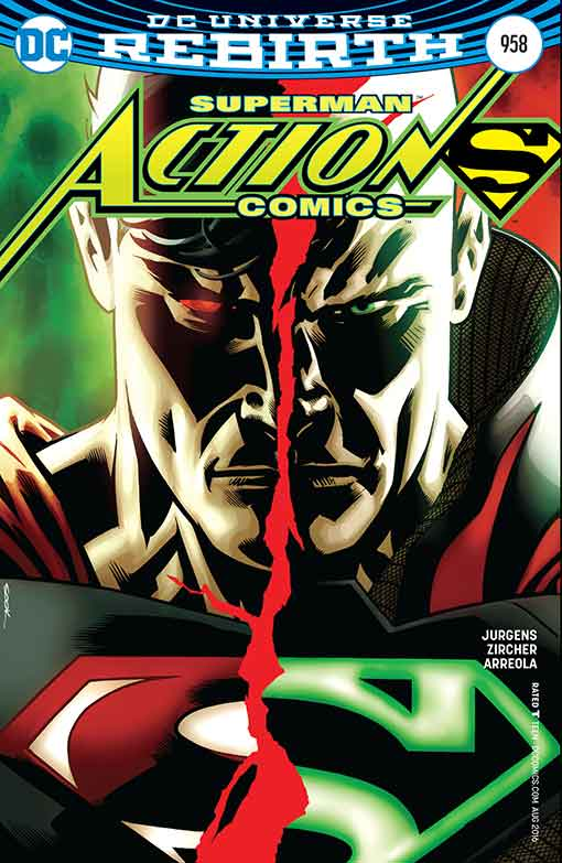 DC Rebirth Action Comics #958 Variant Cover