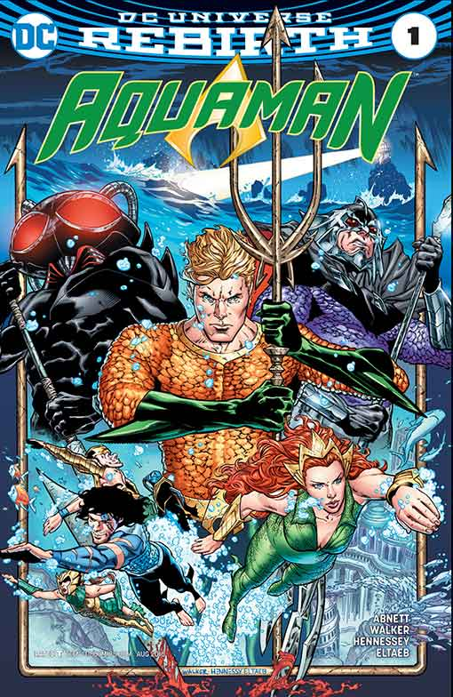 DC Rebirth Aquaman #01 Cover
