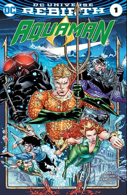 DC Rebirth Aquaman #01 Cover