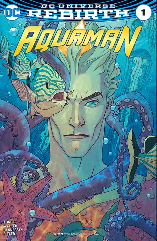 DC Rebirth Aquaman #01 Variant Cover
