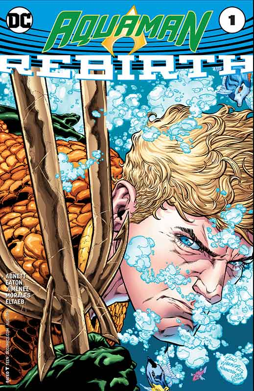 DC Rebirth Aquaman Cover