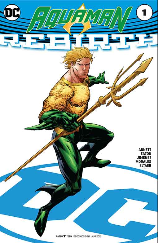 DC Rebirth Aquaman Variant Cover