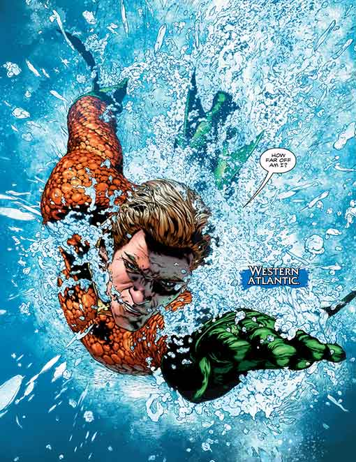 DC Rebirth Aquaman Page 02