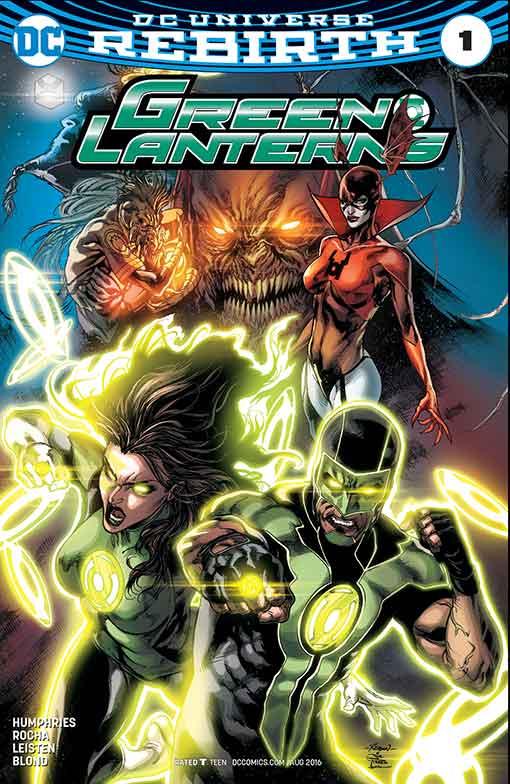 DC Rebirth Green Lanterns #01 Cover