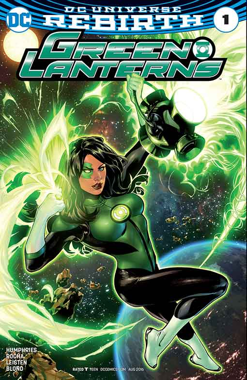DC Rebirth Green Lanterns #01 Variant Cover