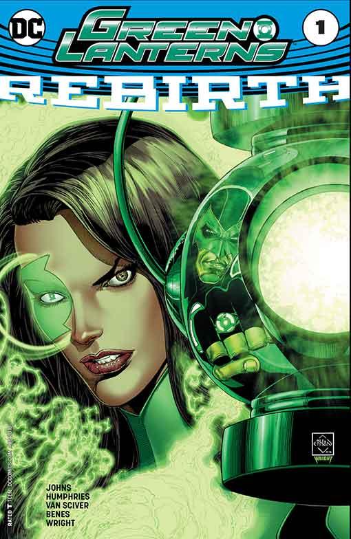DC Rebirth Green Lanterns Cover