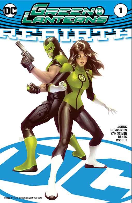 DC Rebirth Green Lanterns Variant Cover