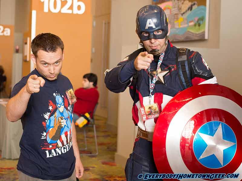 Captain America cosplay at Phoenix ComiCon 2016