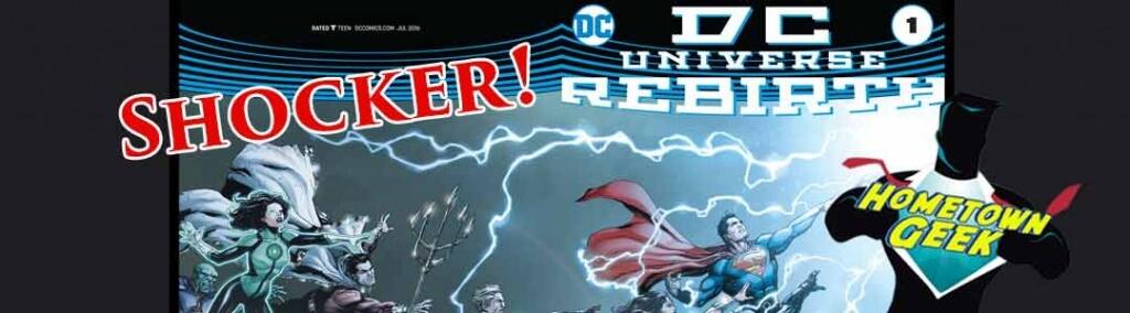 DC Rebirth Shocker!