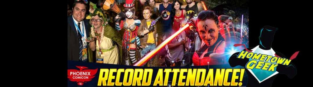Phoenix ComiCon 2016 Record Attendance