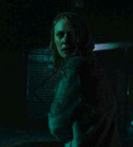 Deborah Ann Woll in Daredevil, Karen Page in the rain