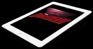 iPad with Daredevil