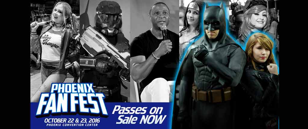 Passes on Sale for Phoenix FanFest 2016!