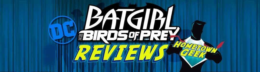 DC Rebirth Reviews-Batgirl and the Birds of Prey: Rebirth #1 (2016)