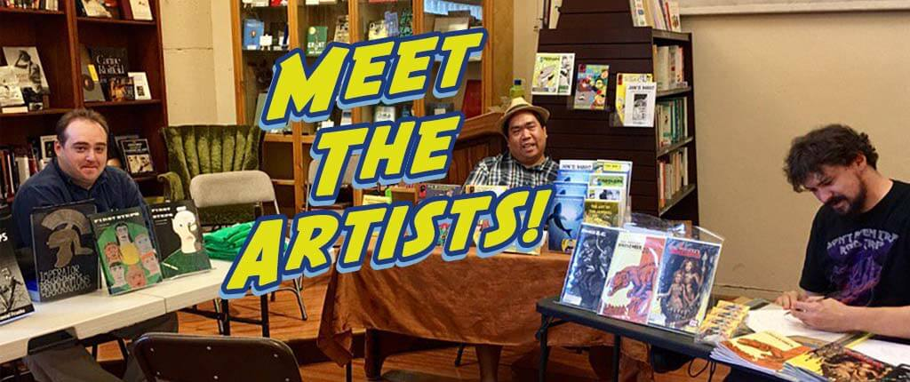 Meet the Artists! Northern Arizona Cartoonist Association