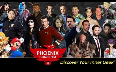 Phoenix Comic Fest May 24-27, 2018