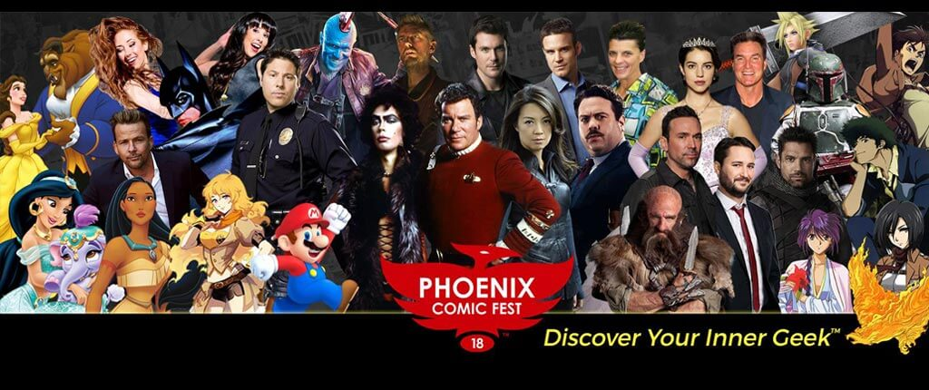 Phoenix Comic Fest 2018 TWO Weeks Away!