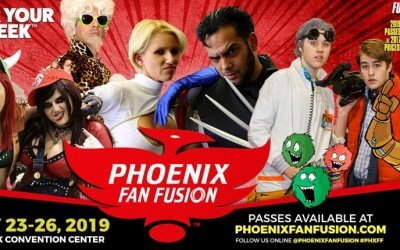 Phoenix Comic Fest/Fan Fusion May 23-26, 2019