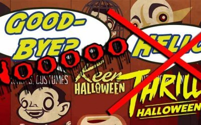 Thrill Halloween Cancelled