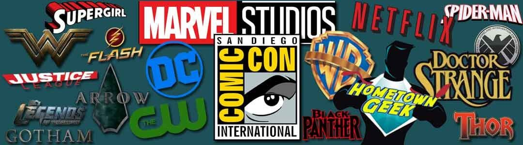 San Diego Comic Con 2016 Trailers and Panels