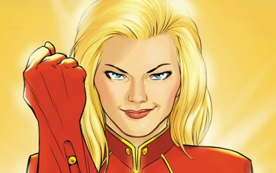 Higher, Further, Faster-Captain Marvel