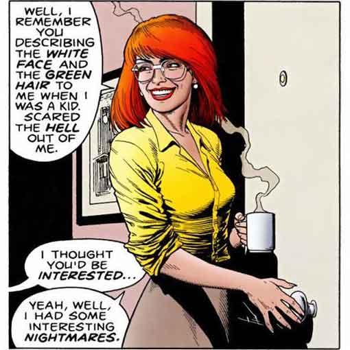 Barbara Gordon panel from Alan Moore and Brian Bolland's The Killing Joke graphic novel