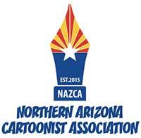 Northern Arizona Cartoonist Association (NAZCA) Logo
