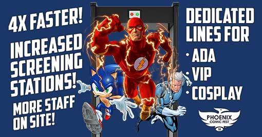 Phoenix Comic Fest 2018-faster lines