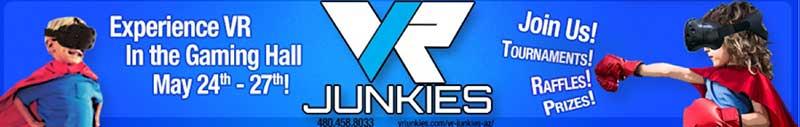 Phoenix Comic Fest 2018-Virtual Reality Junkies