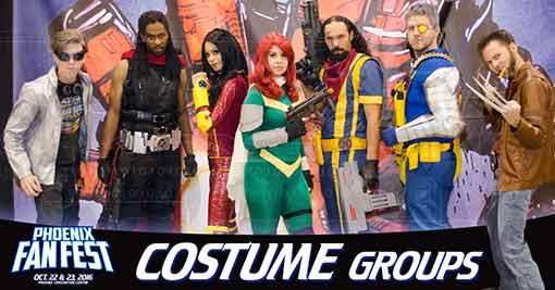 Phoenix Fan Fest 2016 - Costume Groups