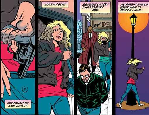 Superman #85 Page 1 Detail