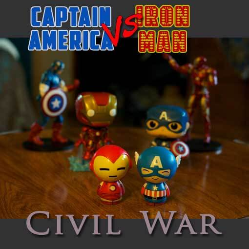 Captain America vs. Iron Man - Civil War