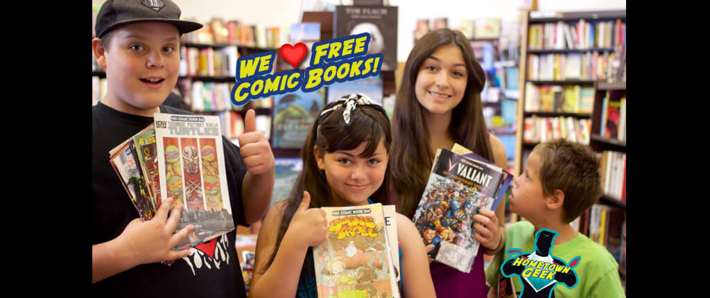 Free Comic Books?? Yes, Please!