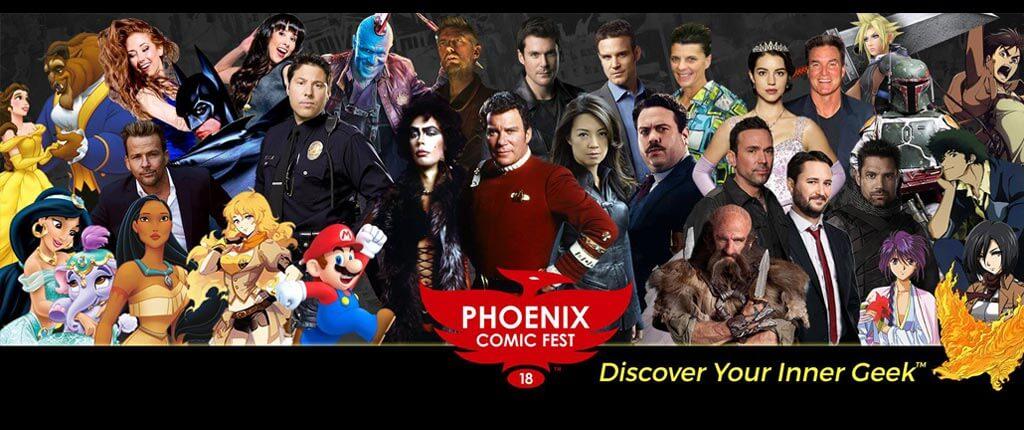 Phoenix Comic Fest 2018 TWO Weeks Away!