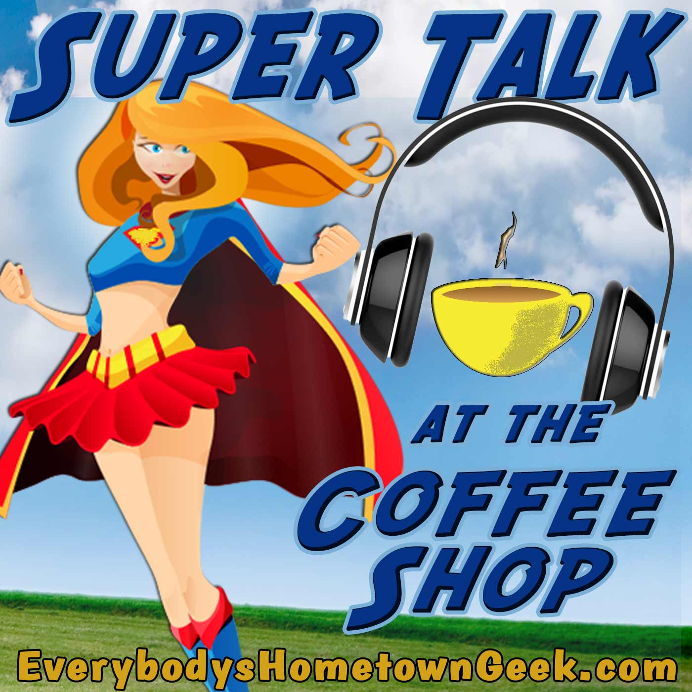 Super Talk at the Coffee Shop-Supergirl TV Show Review